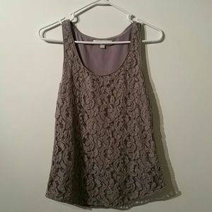 Lace Loft pull over tank